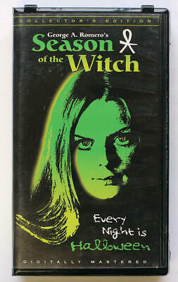 SEASON THE WITCH ~ GEORGE ROMERO ~ Anchor Bay VHS Collector's Edition ~ Horror