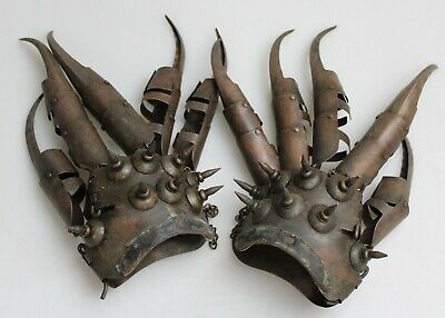 Claw Glove Weapon 'Freddy Krueger' Real Metal Finger Blades Cosplay
