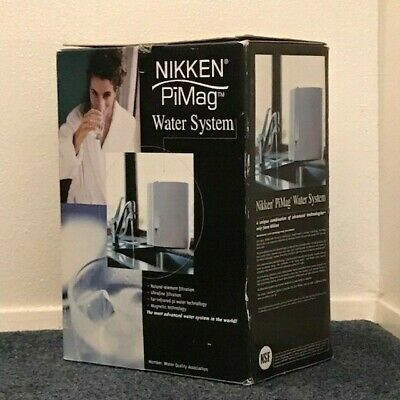Nikken Pimag Countertop Water Filter System #1316  - New In Open  Box