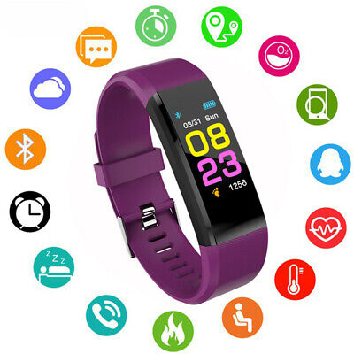 Fitbit Bluetooth Smart Pedometer Bracelet Style Heart Rate Monitor Watch