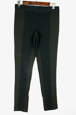 Philosophy Womens Pants Size S Pull On Stretch Skinny Legging Black Brown Ankle