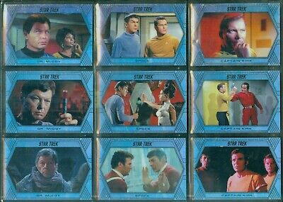 Star Trek Inflexions 100 Card Holofoil Parallel Base Set [ Limited to 75 Sets ]