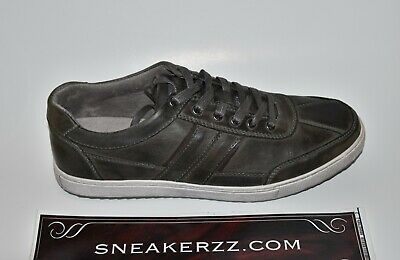 New Mens Kenneth Cole Reaction Sprinter Low Top Sneaker Grey Shoes Leather