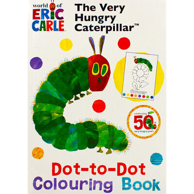 The Very Hungry Caterpillar Dot-to-Dot Colouring Book, New Arrivals, Brand New