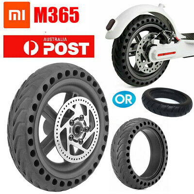 Solid Rear Tire Wheel Hub Tyre Kit Parts for Xiaomi Mijia M365 Electric Scooter