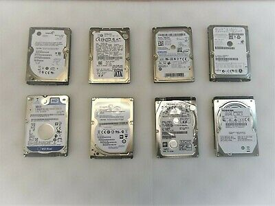 "120GB 160GB 250GB 320GB 500GB 750GB 1TB SATA Laptop 2.5"" HDD Hard Drive LOT"