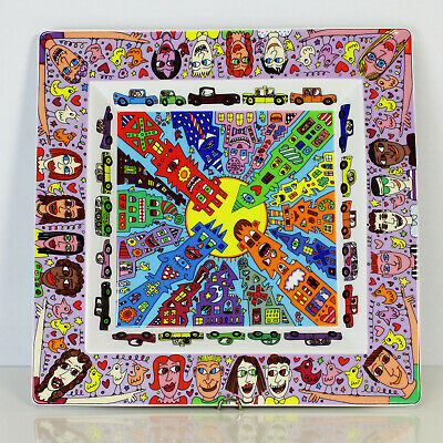 Rosenthal Art Collection Teller No 1 James Rizzi 33cm