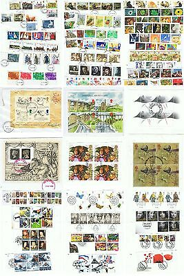 Decimal USED YEAR SETS 1990 - 2008 EX FDC M/S sold separately  DISCOUNTS to 30%
