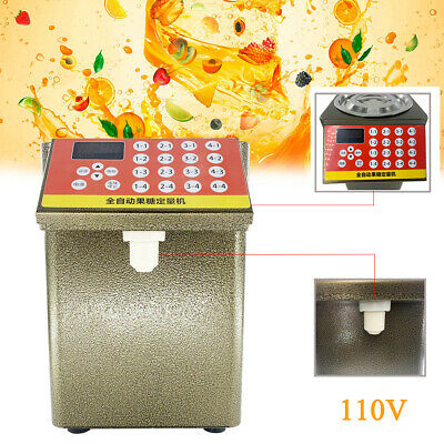9L Fructose Dispenser Bubble Tea Equipment Fructose Quantitative Machine 280W US