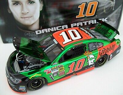 Danica Patrick 2015 GoDaddy #10 Color Chrome Chevy SS 1/24 NASCAR Diecast 1of 84
