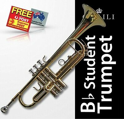 Bb Trumpet WAGNER Brass • High Quality • Brand New • Carry Case • FREE EXPRESS!