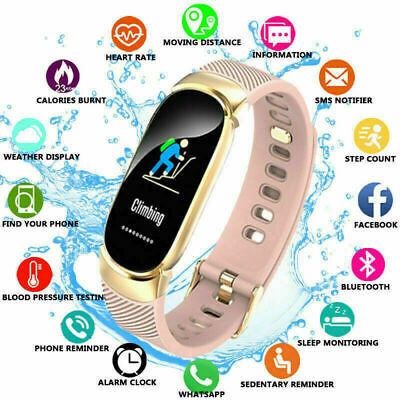 Fitness Smart Watch Band Sport Activity Tracker Kids Fitbit For iOS Android LOT