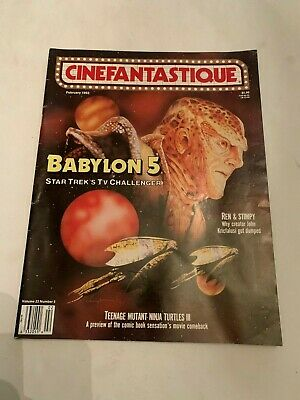 1993 Cinefantastique Magazine Vol 23 No 5 Babylon 5