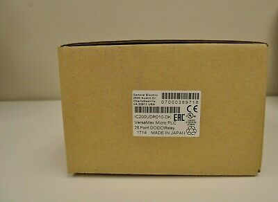 GE VersaMax Micro PLC 28 Point DC/DC/Relay IC200UDR010-DK NEW Surplus in Box