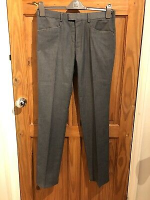 """New Men/'s French Connection Vintage Trousers Shorts W36/"""" L32/"""" RRP£70 Grey Loose"""