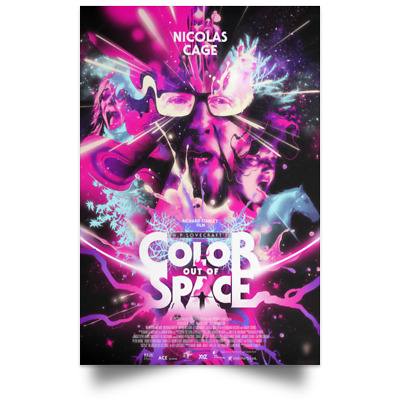 Color Out of Space Movie Poster sizes 16x24 24x36
