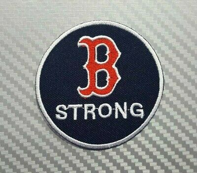 Boston Red Sox Embroidered Circle Logo Collectors Patch