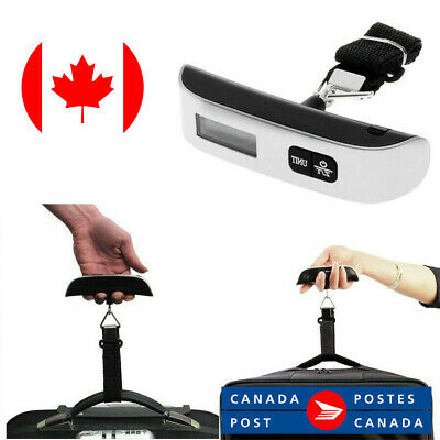 50kg/10g Portable Travel LCD Digital Hanging Luggage Scale Electronic Weight CAD