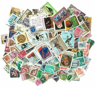 100Pcs/Bag World Stamps From Many Countries All Different NO Repeat Used Post Ma