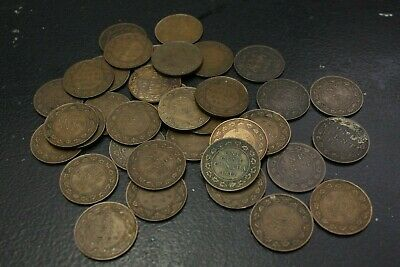 Lot Large Cent Canada 1859 1876H 1886 1888 1897 1904 1913 1914 1916 1917 1918 19