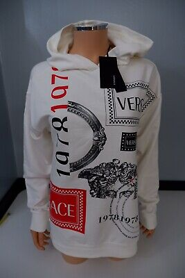 Versace NEW hoodie Sweater Size 164 cm Age 14 Years Bnwts Rrp £378