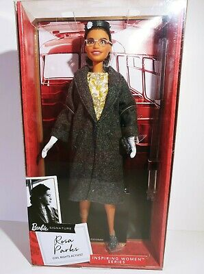 Barbie Rosa Parks Inspiring Women Colletion Signature-Brand New'-unopened box