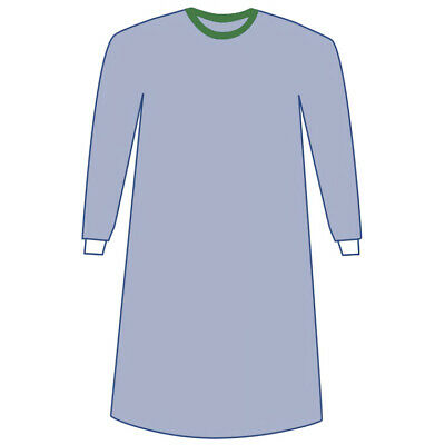Sterile Non-Reinforced Eclipse Surgical Gowns, W/Towel, Large