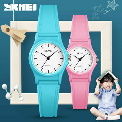 Skmei Kids Sports Wristwatch Boys Girls 50M Waterproof Cute Quartz Watch 1401 1
