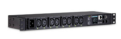 CyberPower PDU81004 power distribution unit (PDU) 1U Black 8 AC outlet(s)
