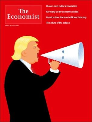 The Economist - 1 Year Print Subscription/ 51 Issues- Takes 4/6 Weeks To Start
