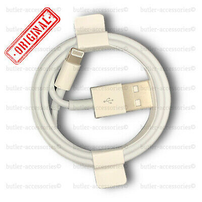 Original Genuine 1M Apple  Lightning Data Cable Charger iPhone 5S 6 7 8 X iPad