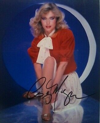 Chevy Chase /& Cindy Morgan Caddyshack autographed 8x10 photo RP