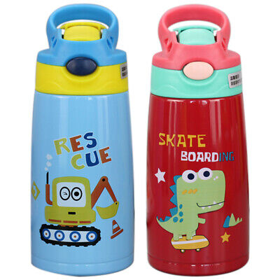 Vacuum Insulated Sippy Cup for Kids Double Wall Vacuum Insulated with Silic K9K5