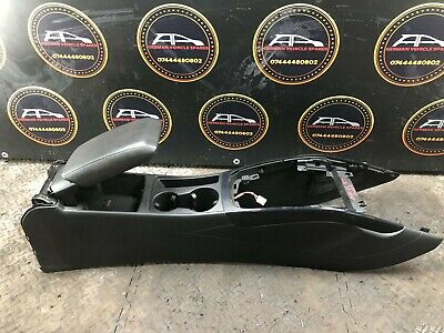 2008 Audi A5 S5 8T Coupe Centre Console Armrest Arm Rest Black Leather Cup Hold