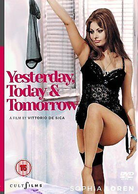 Yesterday Today & Tomorrow  (DVD)  ***Brand New***  Sophia Loren  Erotic