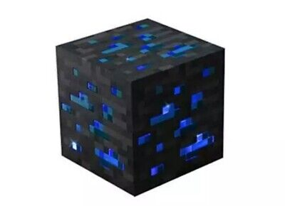 Minecraft Light-up Redstone Or Diamond Ore BRAND NEW Same Day Express Post
