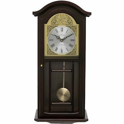 Fox And Simpson Kempston Mahogany Pendulum Clock With Westminster Chimes Traditi