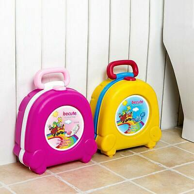 Portable Kids Toilet Seat Car Travel Child Baby Toddler Potty Training Trainer