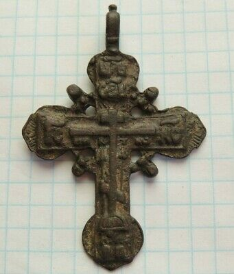 Bronze cross of the 17-18th century