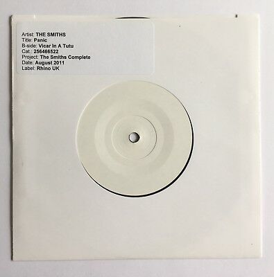 "THE SMITHS - Panic - Rare UK 7"" Solid Centre Test Pressing (Vinyl Record)"