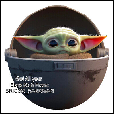 Fridge Fun Refrigerator Magnet STAR WARS THE MANDALORIAN BABY YODA IMAGE -C-