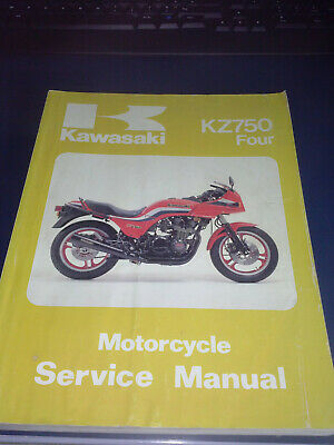 Kawasaki Gpz 750 Manuel Atelier Constructeur Owners Workshop Manual