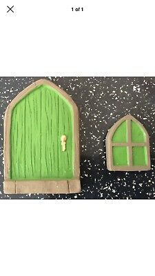 2 X Latex moulds for making this Lovely Set Of Fairy Door And Window