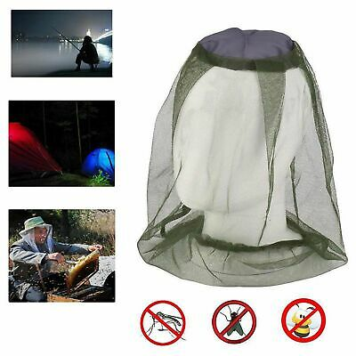 4xMosquito Fly Head Net Insect Mesh Hat Bee Bug Mozzie Protector Outdoor Fishing