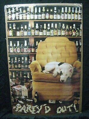 Why Guys Keep Beer On The Bottom Shelf Silk Cloth Poster Decor 9x14 inch