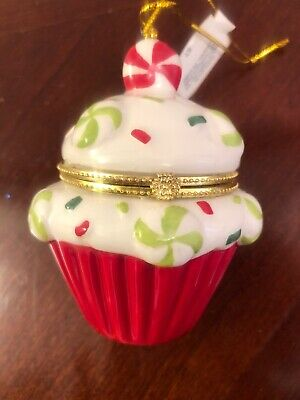 Set of 2 Cupcake Peppermint Candy Trees by Valerie H203373