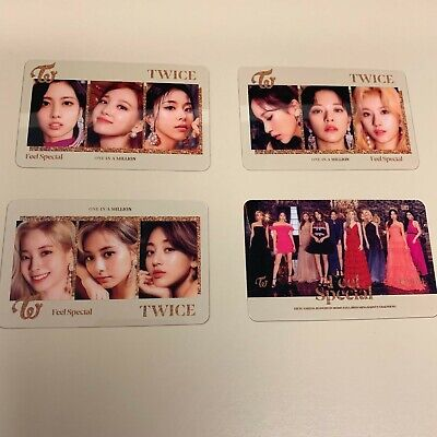 Twice Feel Special Transparent Photocards Choice Music (Choose Card) US ONLY