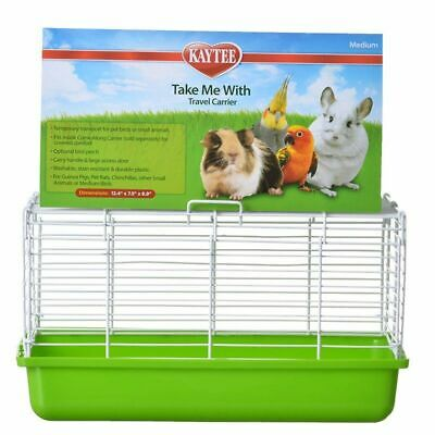 "LM Kaytee Take Me With Travel Center for Small Pets Medium (13""L x 8""W x 7.5""H)"