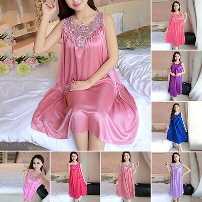 Women Ladies Sexy Lingerie Nightie Sleepwear Slip Dress Nightdress Nightwear