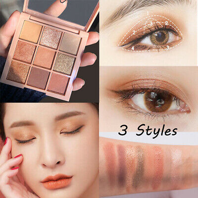 9 Colors Eyeshadow Palette Beauty Makeup Shimmer Matte Eye Shadow Cosmetics Gift